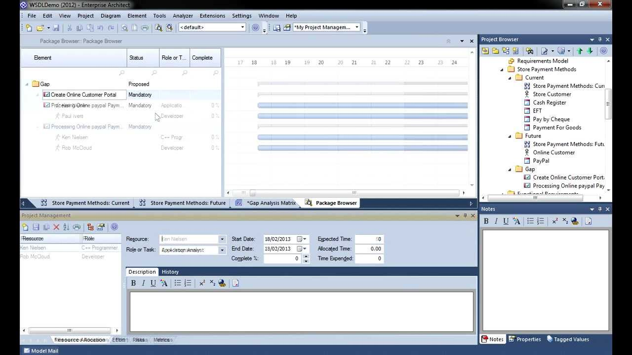 Project management with enterprise architect youtube ccuart Choice Image