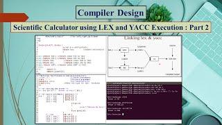 Scientific Calculator using LEX and YACC:Part 2
