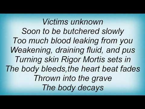 Six Feet Under - Thou Shall Kill Lyrics mp3