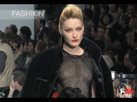 SONIA RYKIEL Fall Winter 1996 1997 Paris - Fashion Channel