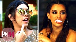 Top 10 Most Hilarious Keeping Up with the Kardashians Moments