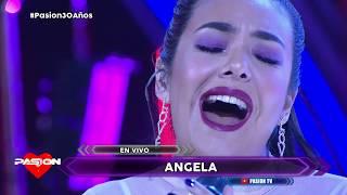 Angela Leiva en vivo en Pasion de Sabado 28 9 2019