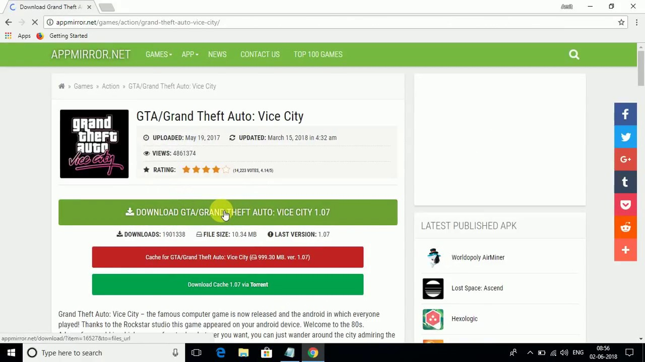 download gta vice city appmirror com