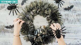 Halloween Dollar Tree Wreath & Decor Ideas