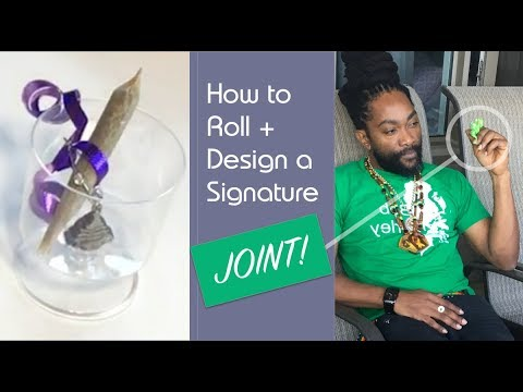 How to Roll and Design a Signature Joint 🔥🔥🔥 with Guest From Mobay,Jamaica | Weed Legal in Canada