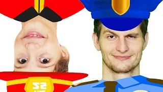Firefighter Song | Fireman Song | Jobs Song | Children's Educational Video