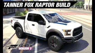 Tanner Fox's Ford Raptor Build - Forza Horizon 3