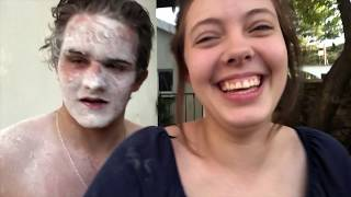 **GONE WRONG** Facebook Flour CHALLENGE (she got it on my eye ball)