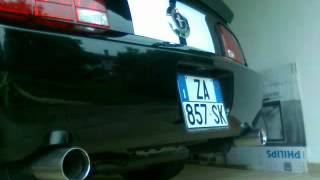 my 2007 mustang v6 dual exhaust with fr500s mufflers