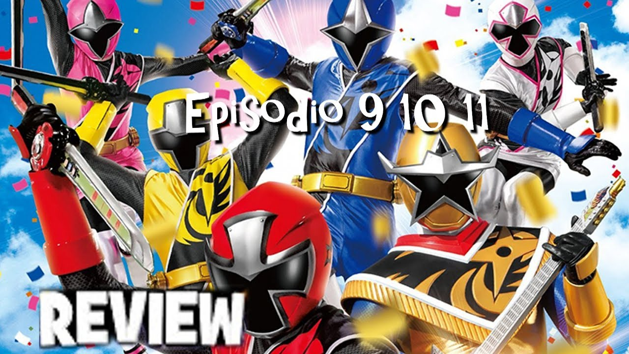The Power Rangers save Earth with their Ninja Powers and Ninja Steel Megazords!