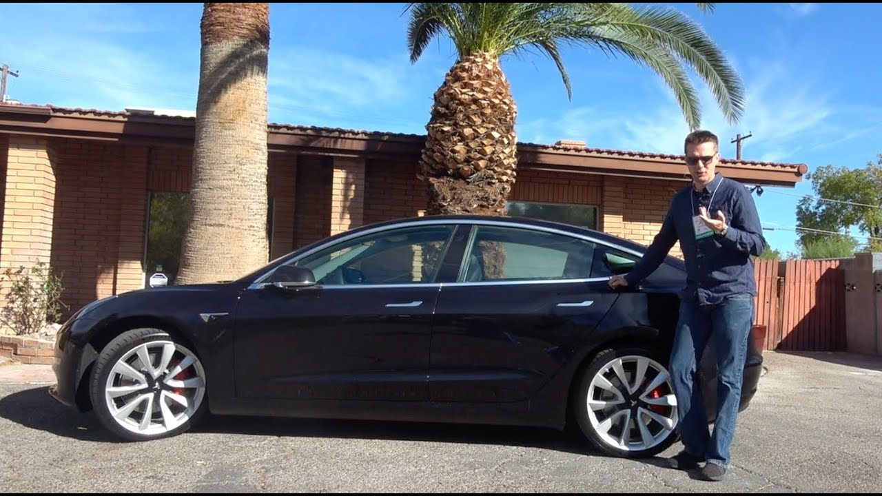The Tesla Model 3 Dual Motor Performance Is Amazing But Also Depressing