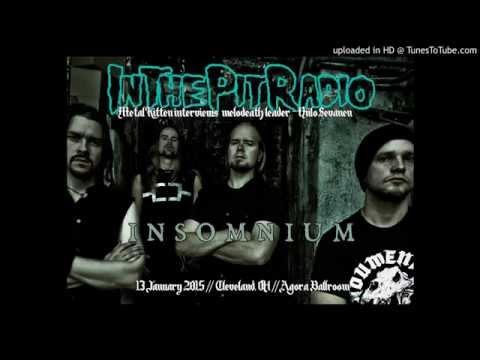 Insomnium Interview - Niilo Sevänen with Metal Kitten (2015)