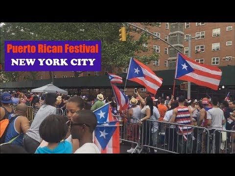 Puerto Rican Festival in East Harlem, New York City (June 2016)