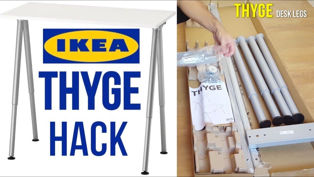 Ikea Thyge Desk Embly Hack