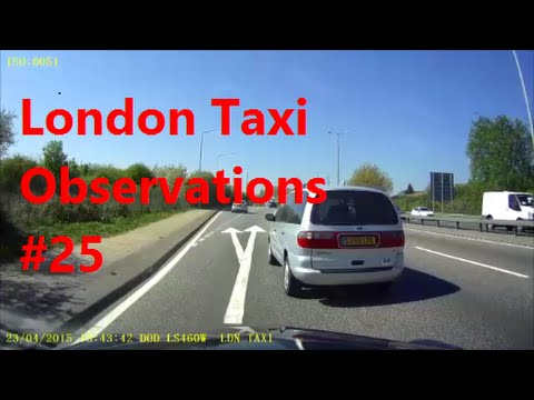 Dash Cam | London Taxi Cab Daily Observations (25) | Black Cab UK by TaxiWarrior