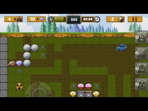 Digger I - Treasure Rush (Android) - gameplay.