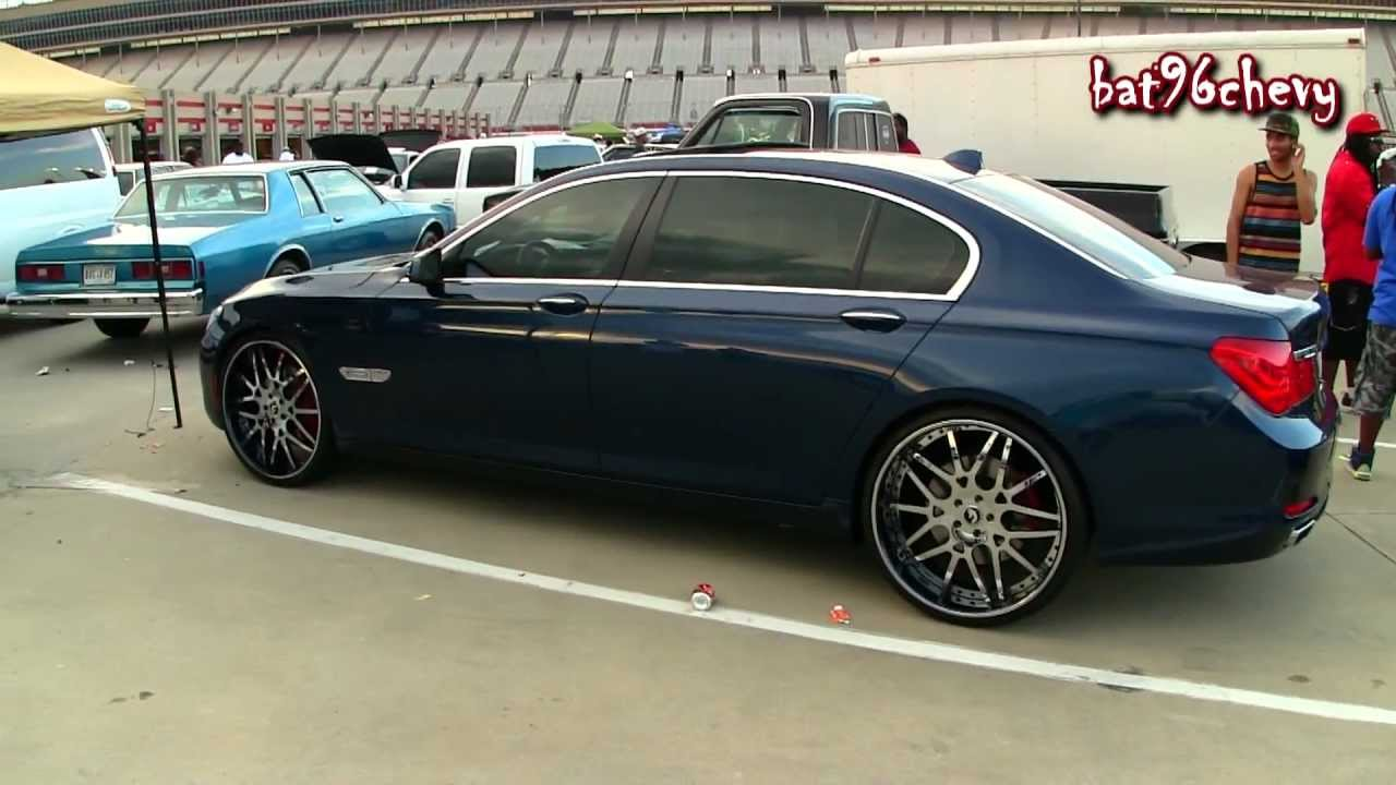 BMW Li On Staggered Forgiatos P HD YouTube - 2009 bmw 745