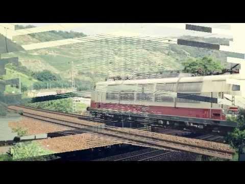 Deutsche Bundesbahn InterCity 1986 at Oberwesel
