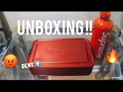 supreme-sigg-metal-storage-box-/-lunch-box-unboxing-!!