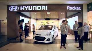 Rockar and Hyundai open Groundbreaking digital car showroom