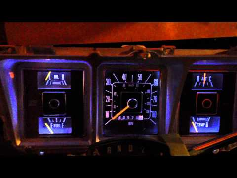 1979 F-350 LED dash lights