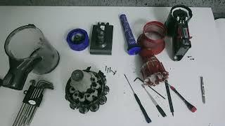 다이슨 무선 청소기 분해 및 세척 청소 필터교체 방법 How to Clean Dys...