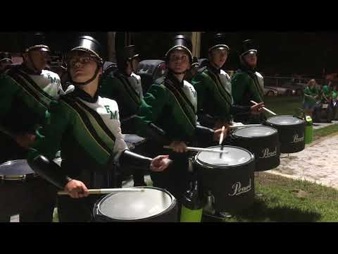 Fort Myers High School High School Greenwave Marching Band 09/01/2017 - North Fort Myers HS