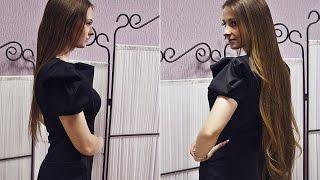 Процедура наращивания волос на кератиновых капсулах. Процесс работы в салоне «Магазин Волос».