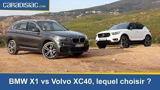 Comparatif - Volvo XC40 vs BMW X1, lequel choisir ?
