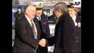 Rumsfeld arrives for NATO def min summit