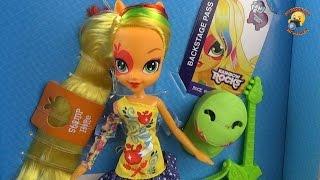 Лялька поні Эпплджек - розпакування та огляд Дівчата з Эквестрии / Equestria Girls