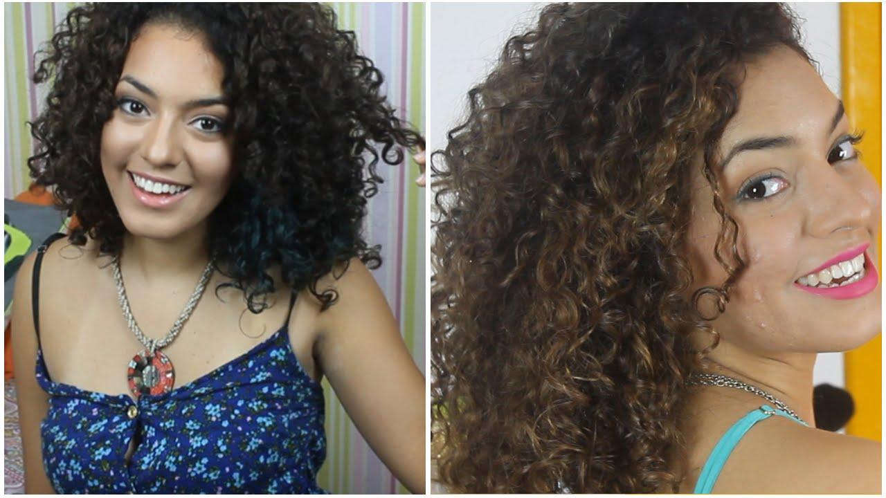 Resultado de imagem para cabelos cacheados com luzes