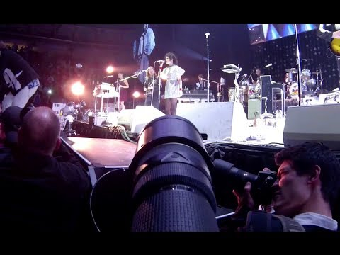 Arcade Fire First Person Shooter with Nikon D4s, Nikon 200-400 VR II and GoPro