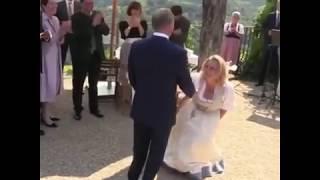 Танец Путина и невесты на свадьбе в Австрии!!!