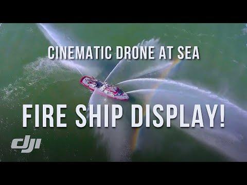 Amazing DRONE footage of OIL RIG Platform Holly @ Santa Barbara, and 5 other boats / DJI Phantom 4