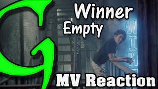 WINNER - (공허해) EMPTY Kpop MV Reaction (뮤직비디오) (리액션) 1080p HD
