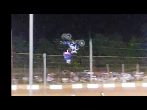 Atv and dirt bike at Dixie speedway