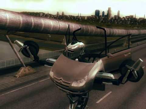 Citroën C4 Robot (2008) - Teaser 1 HD