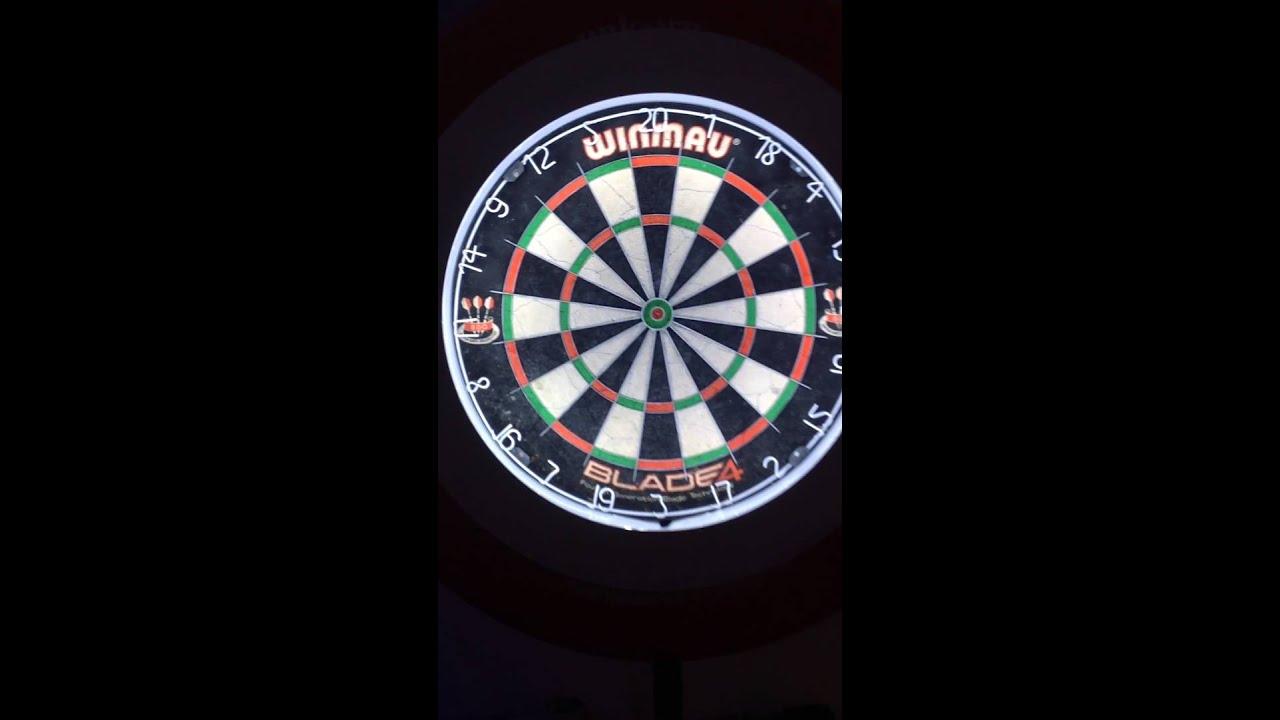 dartboard led light youtube