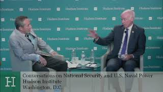 Conversations on National Security and U.S. Naval Power: Rep. Joe Courtney and Seth Cropsey