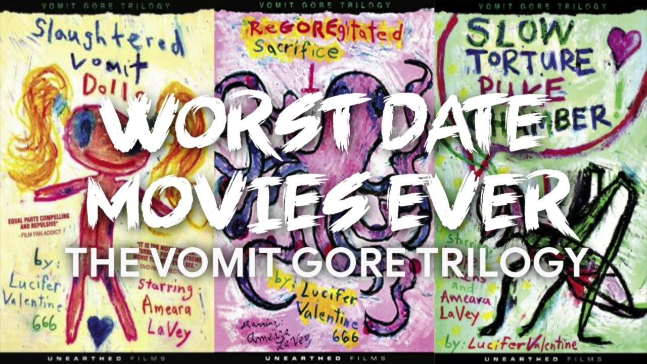 Trilogy full gore movie vomit blu