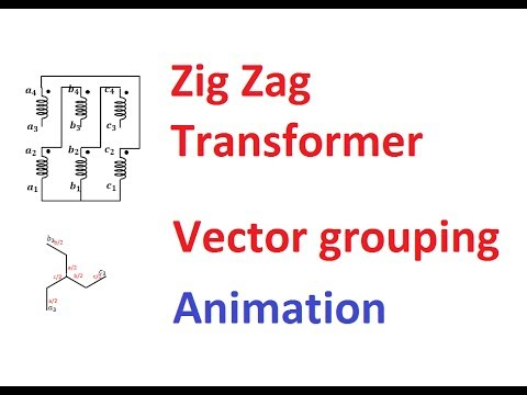 [SCHEMATICS_44OR]  Vector Grouping of a Three Phase Transformer (Part-3)-ZigZag Transformer -  YouTube | Zig Zag Transformer Wiring Diagram |  | YouTube