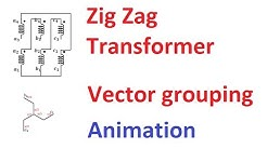 Vector Grouping of a Three Phase Transformer (Part-3)-ZigZag Transformer