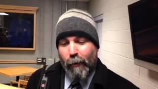 Malden Catholic head coach John McLean