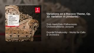 Variations on a Rococo Theme Op. 96: Variation VI - Andante