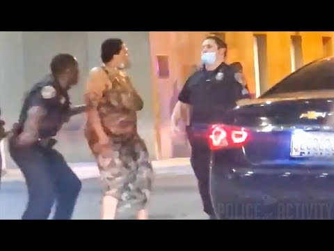 Bodycam Shows Woman Punching Baltimore Cop Twice Before Another Knocks Her Out
