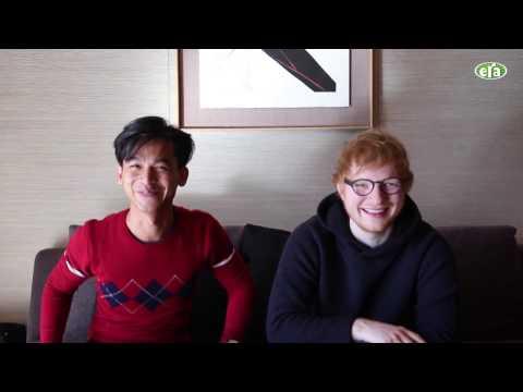 Ed Sheeran buat pickup line