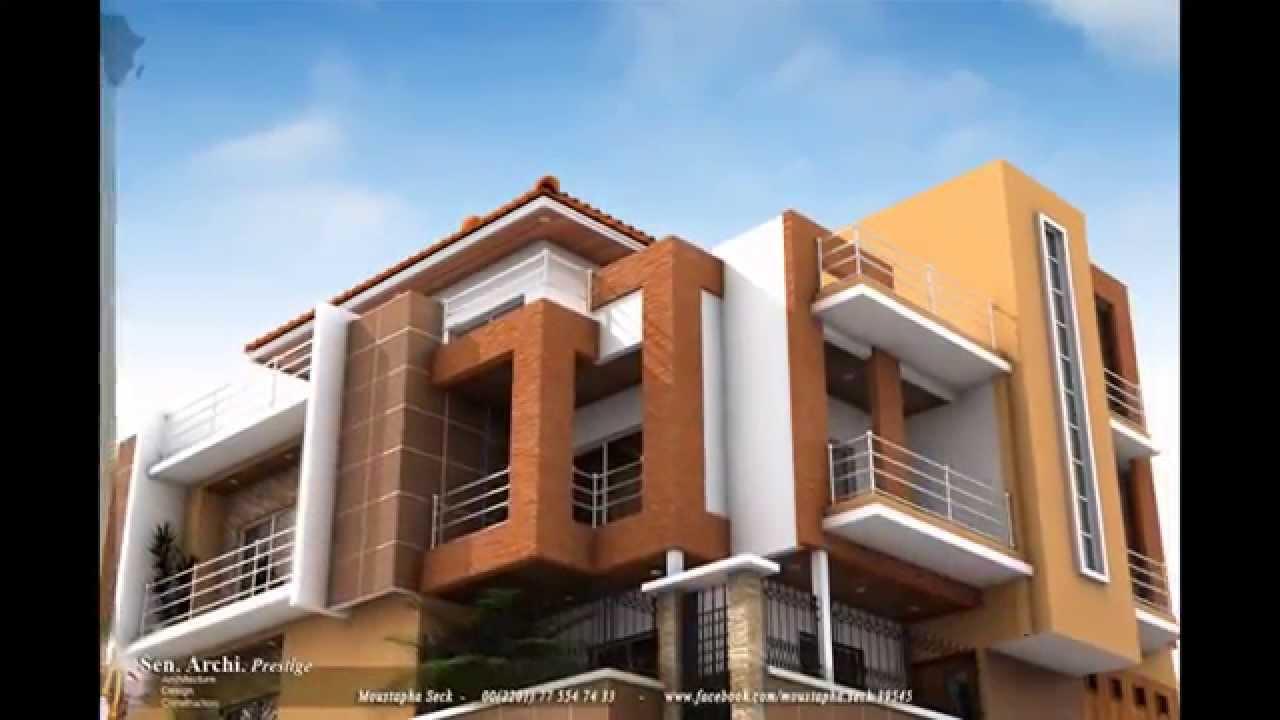 Construire au s n gal youtube for Plan maison 150m2 senegal