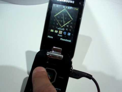 Samsung Diva (S5150) - MWC 2010