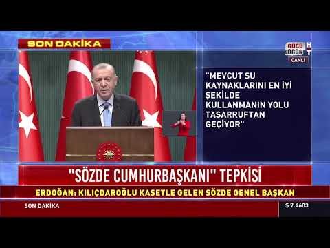 Cumhurbaşkanı Erdoğan: Kısıtlamaları kademeli olarak azaltacağız. Aşılar perşembe veya Cuma başlıyor